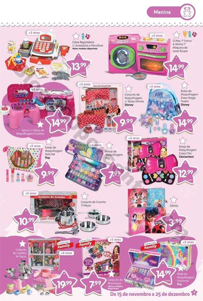 Antevisão Folheto MINIPREÇO Brinquedos Natal pro
