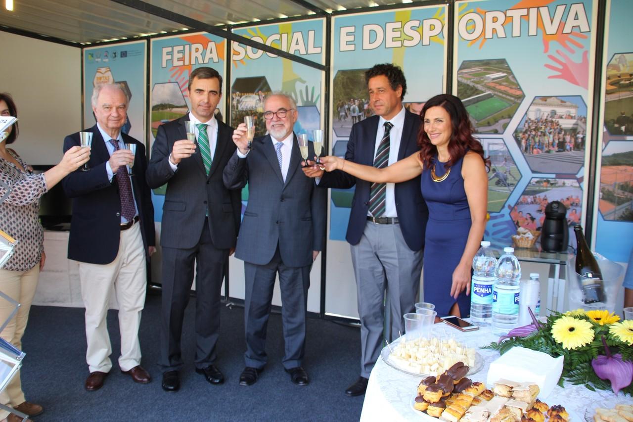 Abertura da Feira Social e Desportiva.JPG