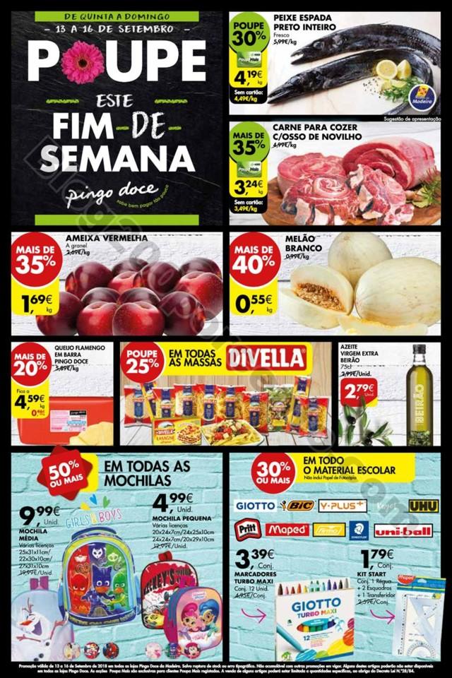 Antevisão Folheto PINGO DOCE Madeira fim de seman