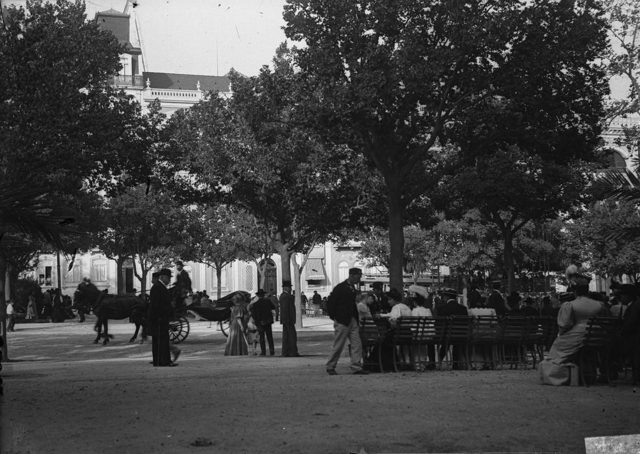 Avenida da Liberdade, foto de José Arthur Leitão