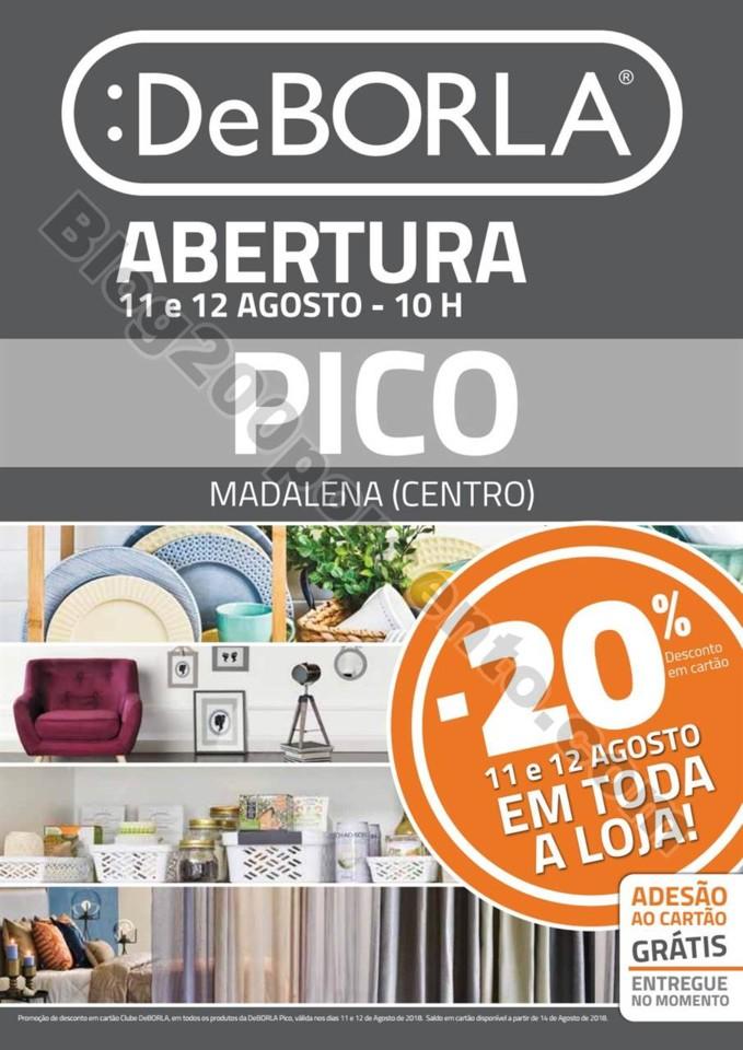 Antevisão Folheto DEBORLA Abertura Pico 11 e 12 a