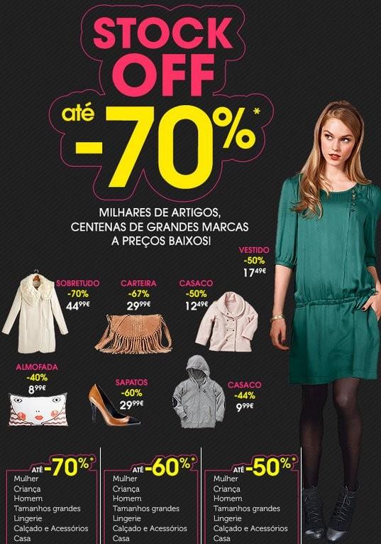 Stock Off | LA REDOUTE | descontos até 70%