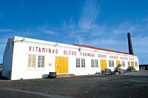 museu da industria baleeira em sao roque do pico -