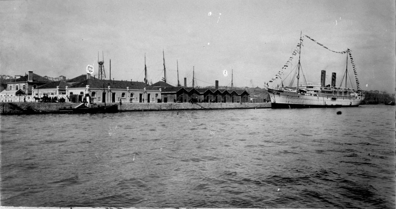 Posto Marítimo de Desinfecção, post. 1906, foto