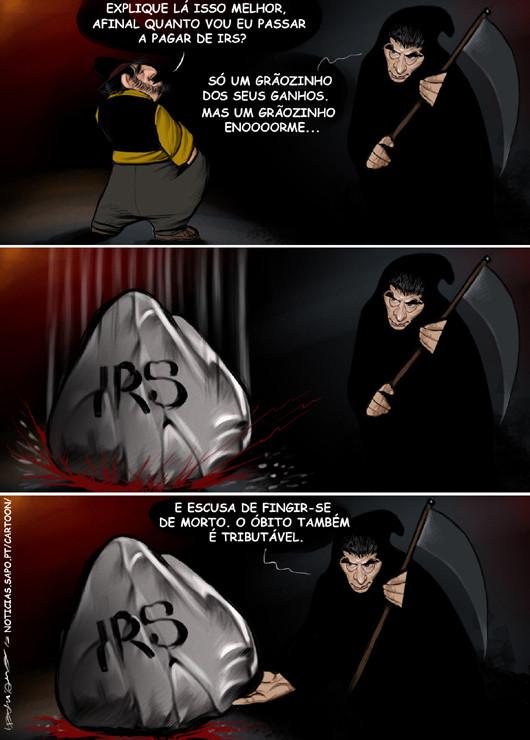 Cartoons - O inferno de Vítor Gaspar