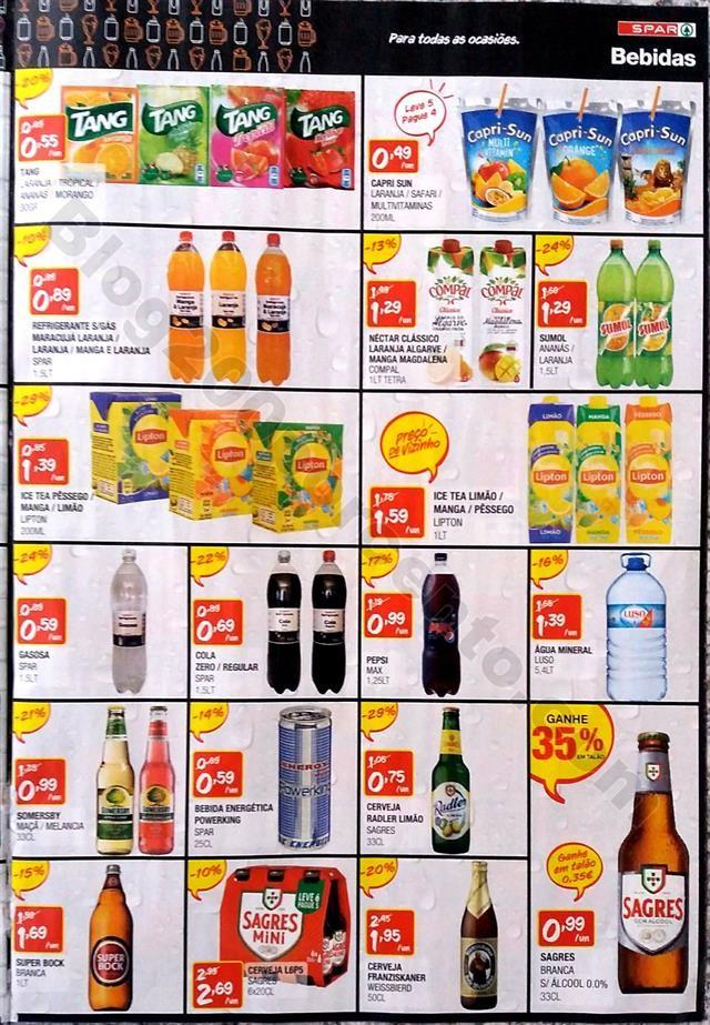 antevisao folheto SPAR Promoções de 14 maio a 16