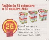 Acumulação Iogurtes Líquidos | CONTINENTE | , hoje e amanhã