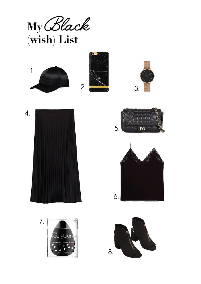 black wish list, ina, ina the blog, blogger