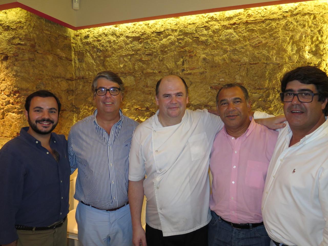 João Jorge, João Alegre, Walter Blazevic, Osvaldo Amado, Pedro Alegre