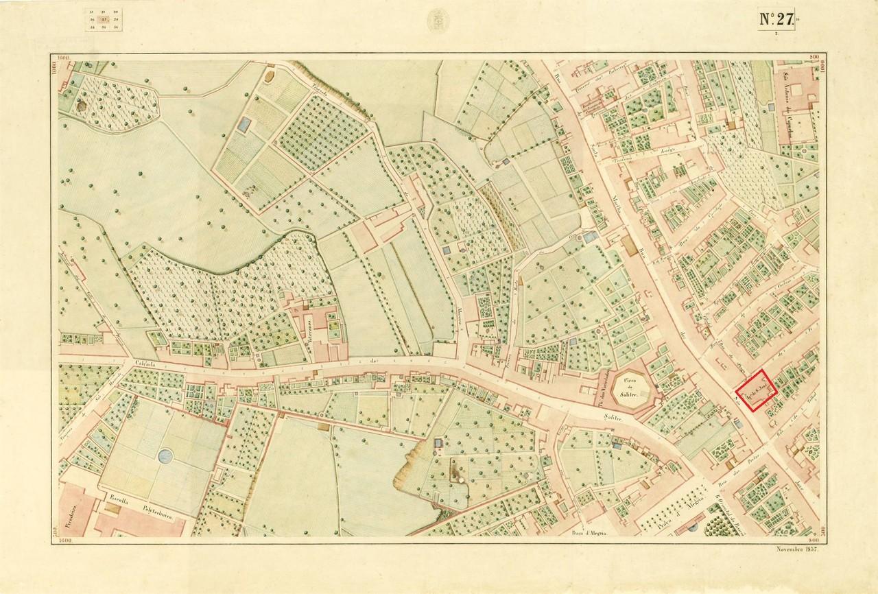 Atlas da carta topográfica de Lisboa n.º 27, 185