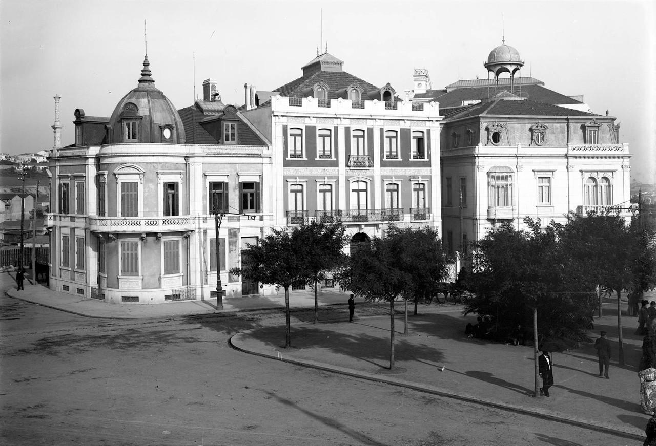 Praça Marquês de Pombal, sd, foto de Paulo Guede