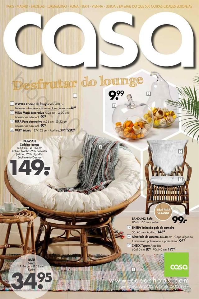 Antevisão Folheto CASA Promoções de 27 fevereir