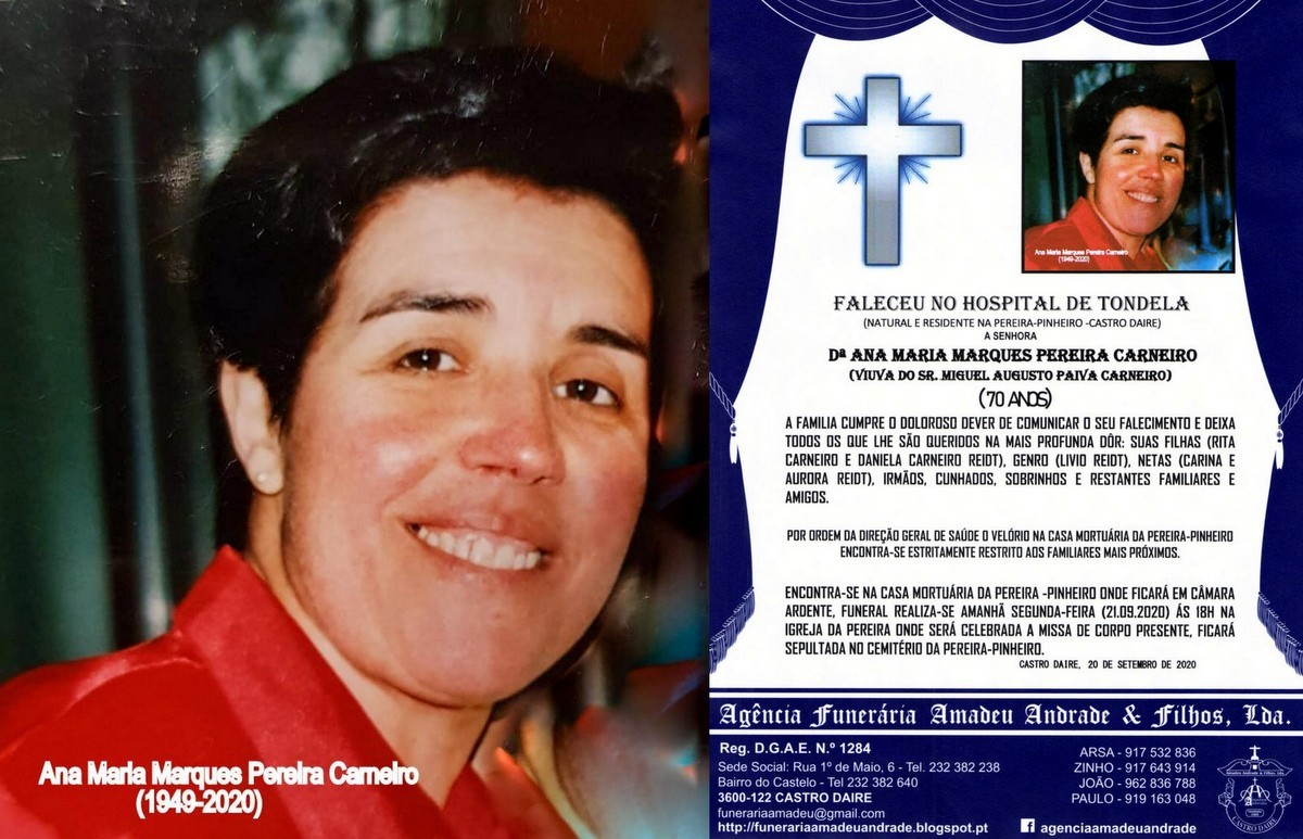 FOTO RIP  DE ANA MARIA MARQUES PEREIRA CARNEIRO-70
