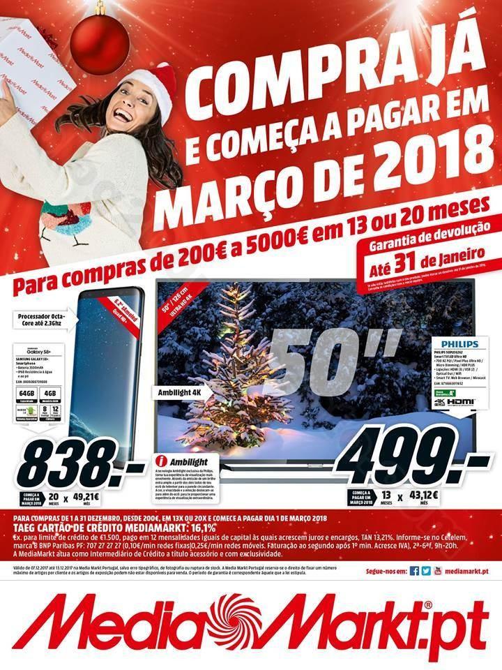 Antevisão Folheto MEDIA MARKT Promoções de 7 a
