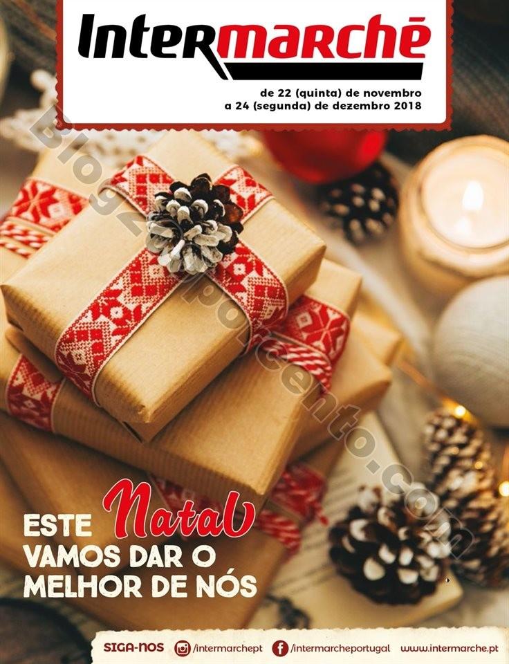 Antevisão Folheto INTERMARCHÉ Presentes de Natal