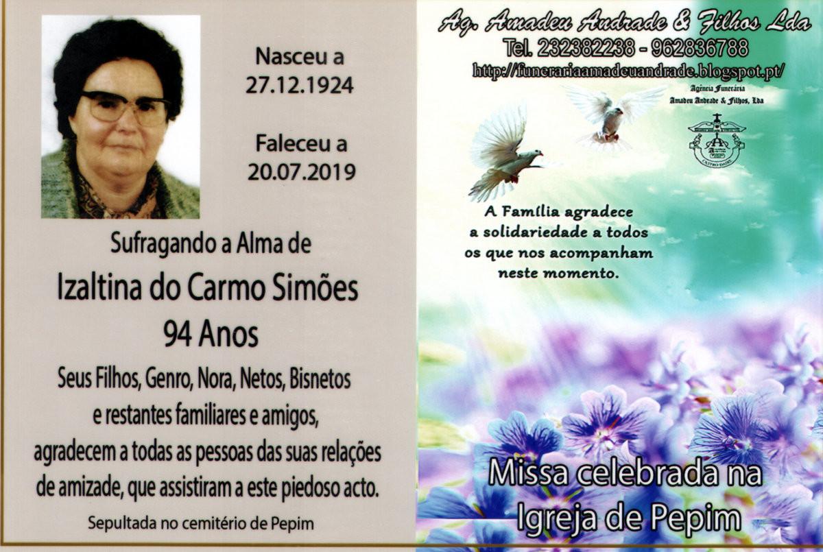 CARTÃO DE AGRADECIMENTO 2 DE IZALTINA DO CARMO SI