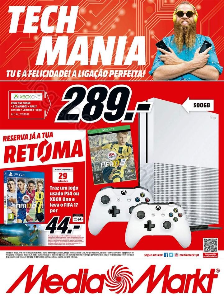 Antevisão Folheto MEDIA MARKT Promoções de 22