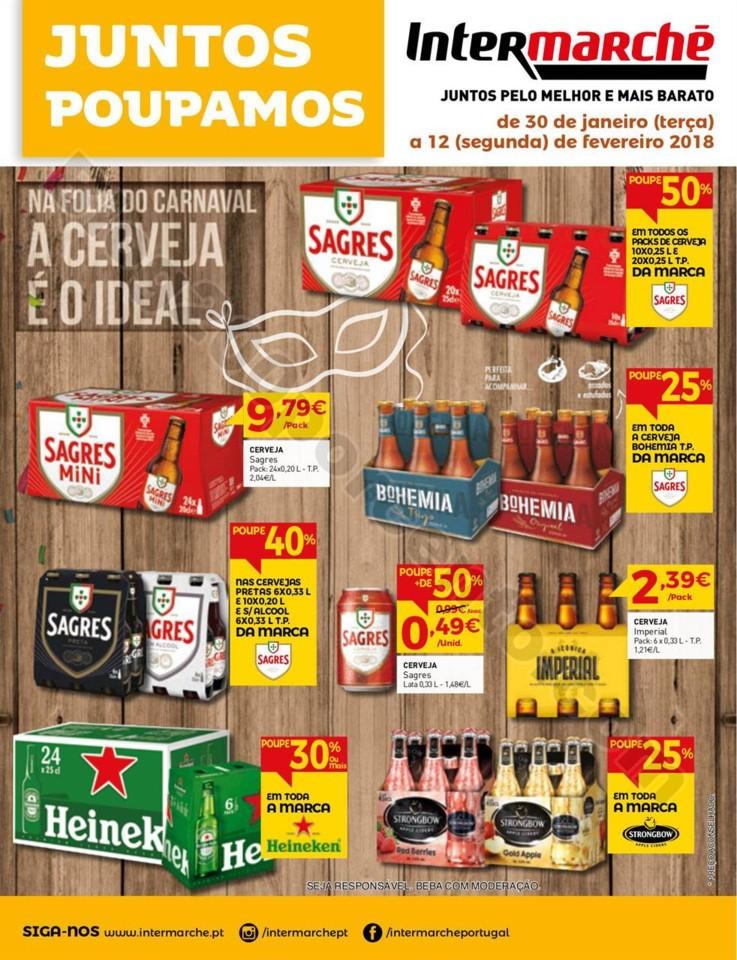 Antevisão Folheto INTERMARCHÉ Bebidas promoçõe