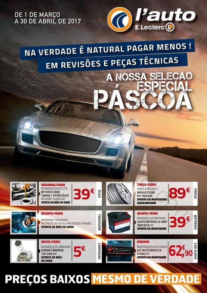ANtevisão Folheto E-LECLERC Auto Promoções de 1