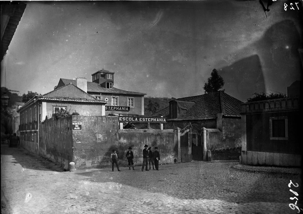 Escola Estephania, 1898 1908, foto de Machado & So