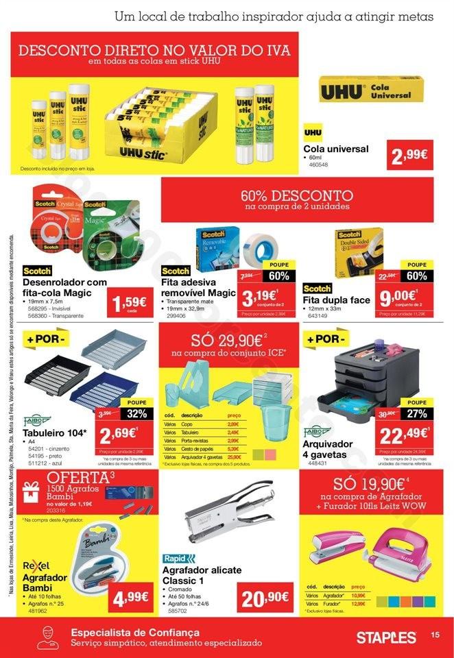 Antevisão Folheto STAPLES Promoções de 5 a 20 m