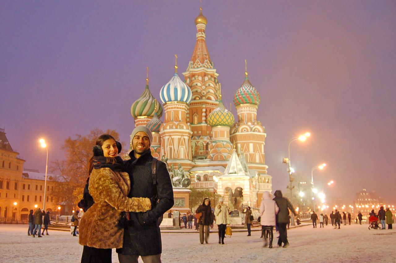 Catedral de São Basílio, em Moscovo