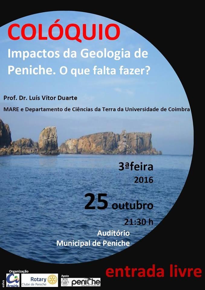 Cartz colóquio - Impactos da Geologia de Peniche.