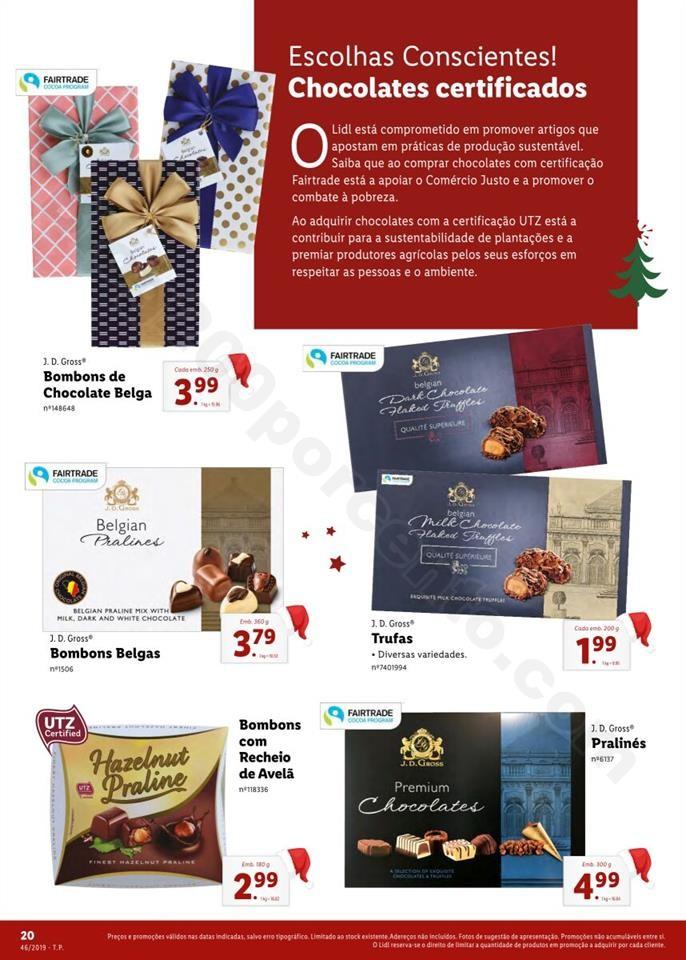Folheto LIDL Presentes de Natal 11  novembro p20.j