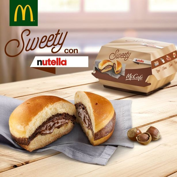 McDonalds-in-Italy-have-launched-a-Nutella-burger.