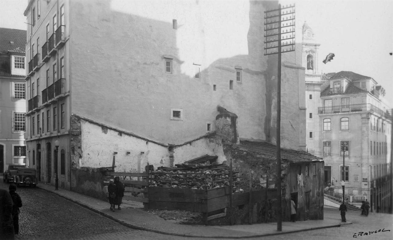 Rua da Madalena, Janeiro 1941, foto do espólio.jp