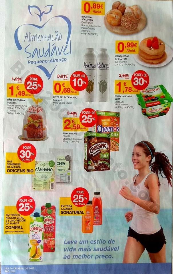 Intermarché Folheto promoções de 18 a 24 abril