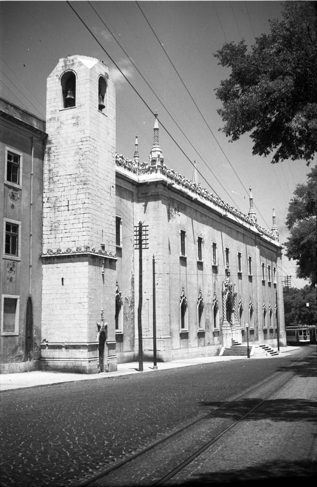 Convento da Madre de Deus, fachada principal, anos