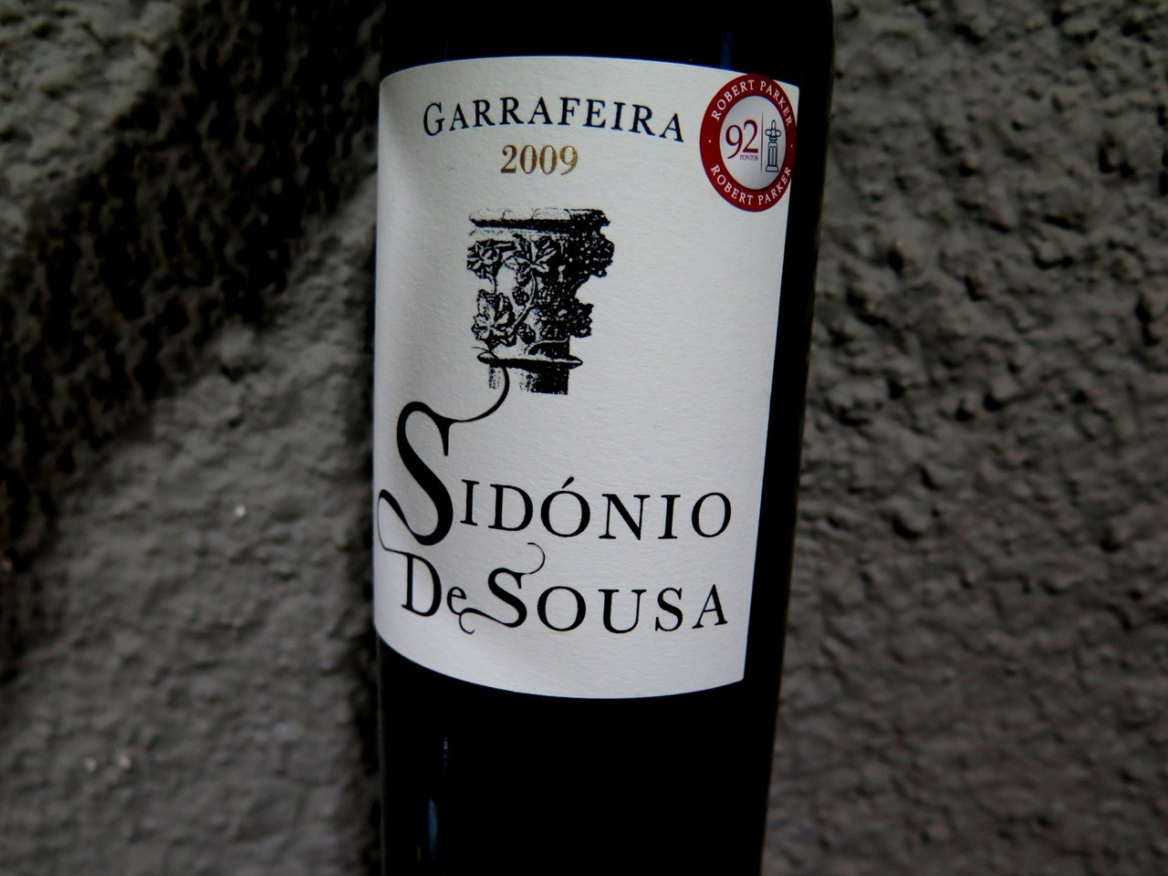 Sidónio de Sousa Garrafeira tinto 2009