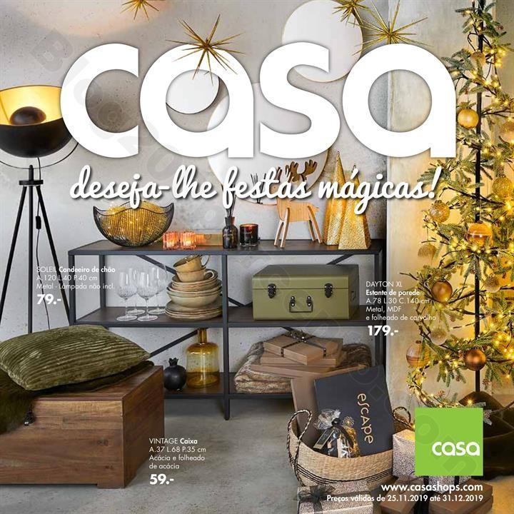 Antevisão Folheto CASA Promoções de 25 novembro