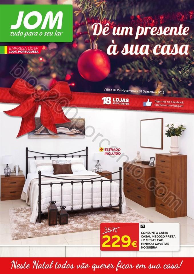 Novo Folheto JOM Promoções de 24 novembro a 31 d