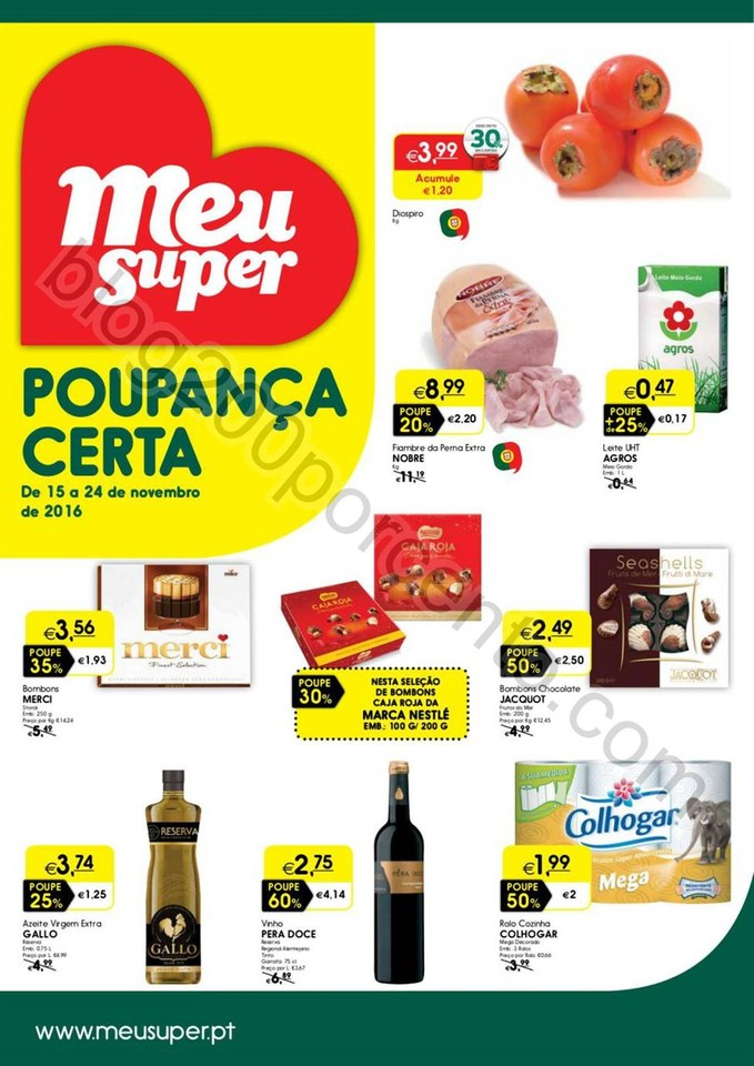 Antevisão Folheto MEU SUPER Promoções de 15 a 2