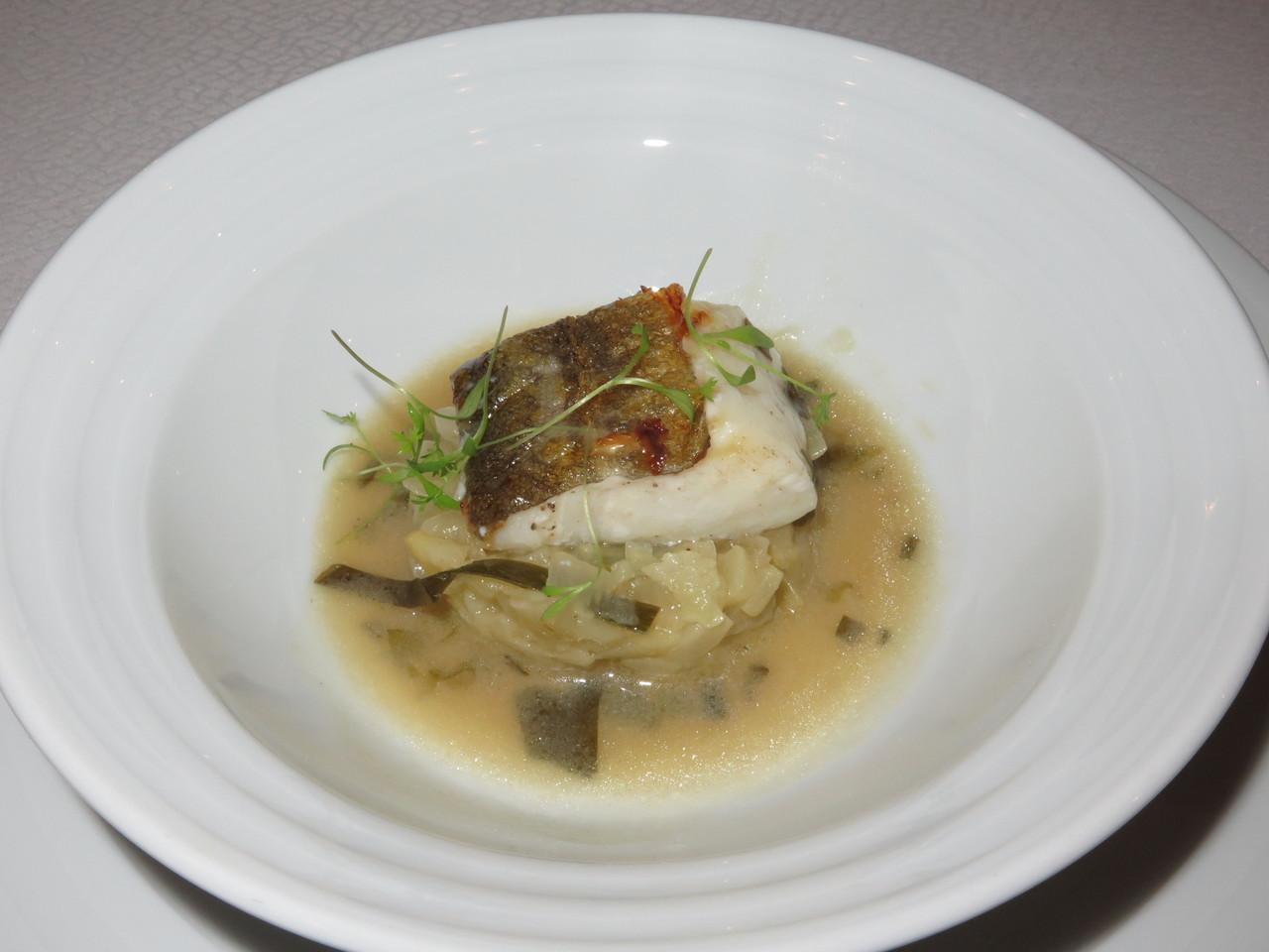 Bacalhau Fresco, Funcho e Algas