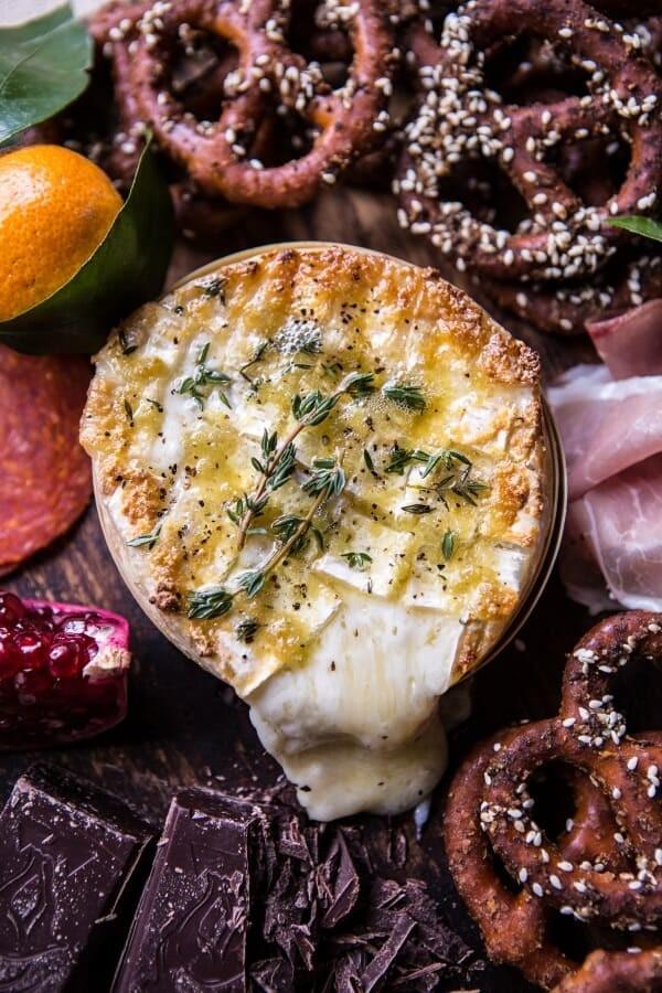 Honey-Baked-Brie-with-Seasoned-Pretzels-EASY-CHRIS