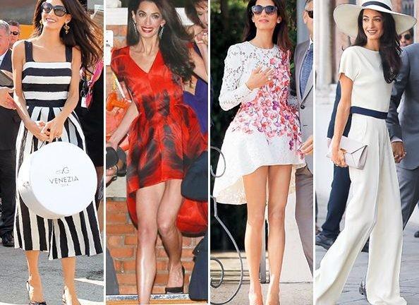 Amal Clooney - Estilo Elegante - Blog de Moda e Estilo