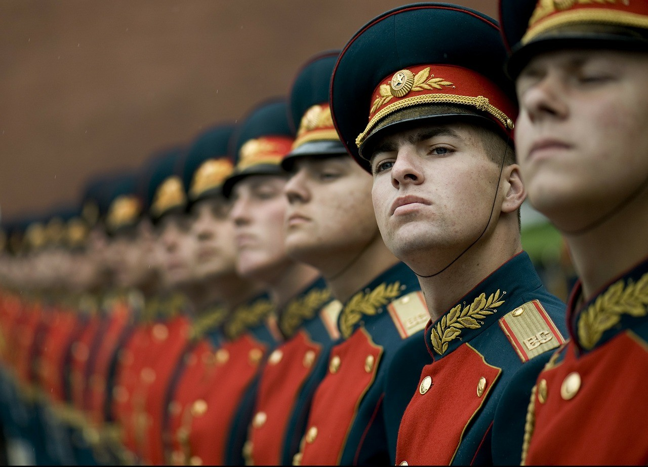 Guardas de Honra na Rússia