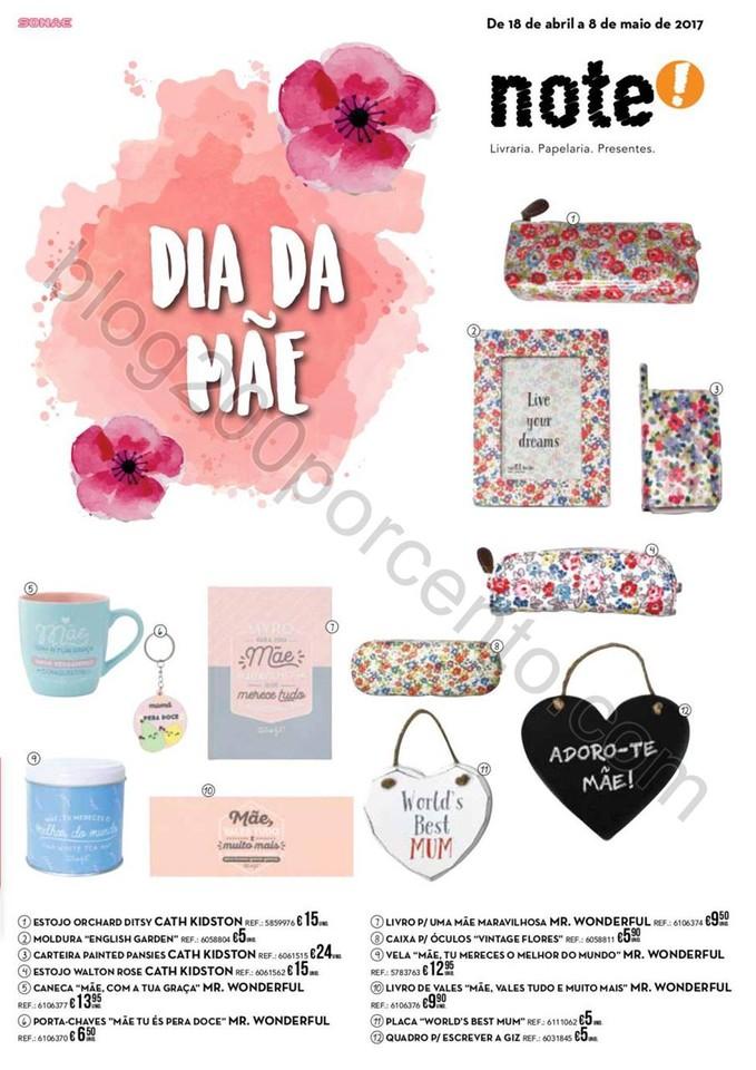 Antevisão Folheto NOTE Especial Dia da Mãe promo