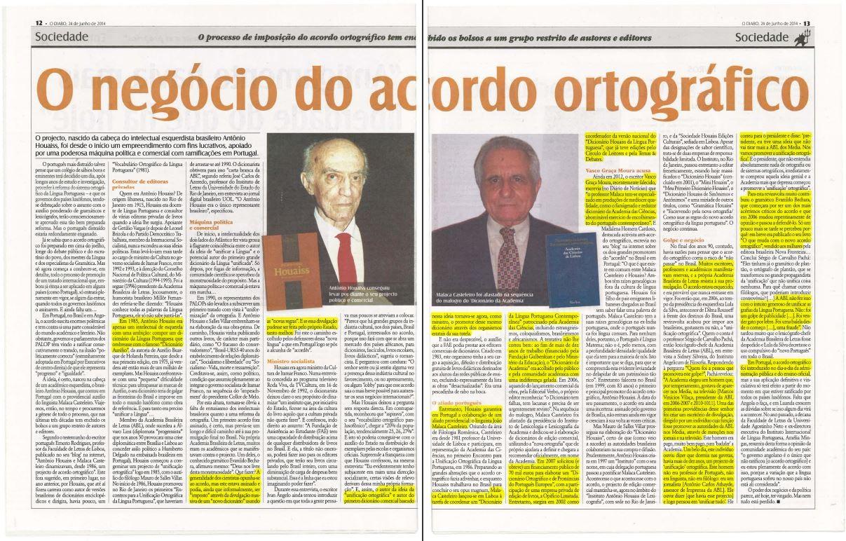 Caso do português pateta (Diabo, 24/6/2014)