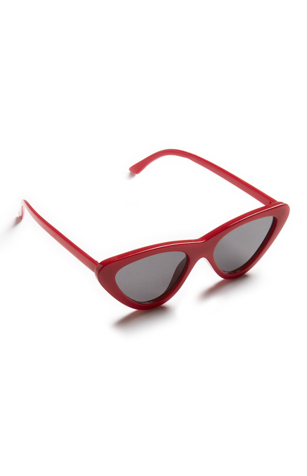 KIMBALL-0248001-SLIM CAT EYE RED, ROI C FRIT B IB
