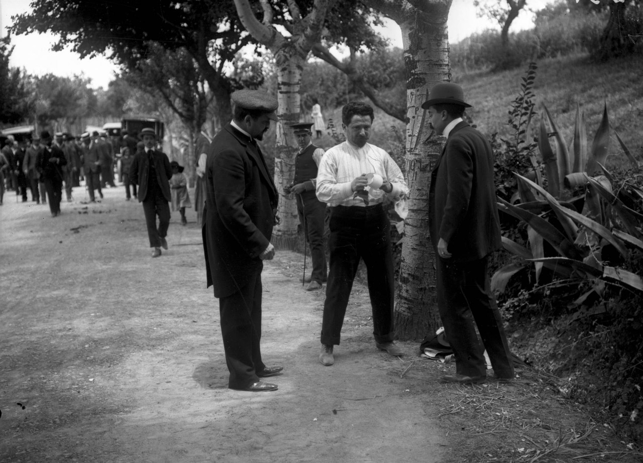 Cena de duelo entre Penha Garcia e Afonso Costa.jp