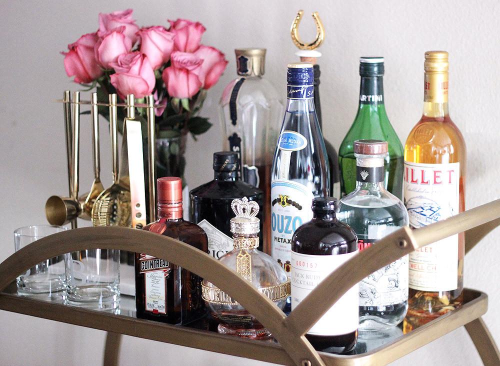 Erika-Brechtel-how-to-style-a-bar-cart-essentials-