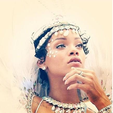 Rihanna no Cropover Barbados  2013