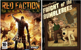 Red Faction Guerrilla e Wallace & Gromit's Grand Adventures disponíveis no MEO Jogos