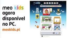 MEO kids disponível no PC