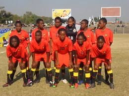 SELECÇÃO feminina de futebol