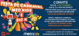 Festa de Carnaval MEO Kids e Sic K